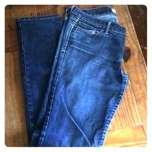 Abercrombie skinny jeans.